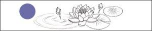 オーダーメイドの睡蓮マリッジリング デザイン