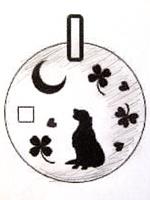 オーダーメイド 犬用ネックレス 下絵デザイン
